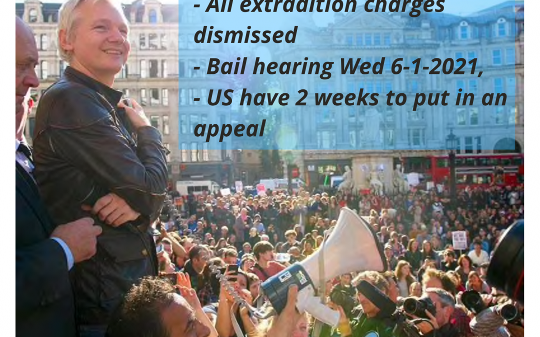 US Extradition charges dismissed