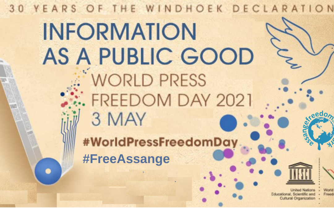 Add your event for World Press Freedom Day, 3 May 2021