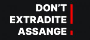 Don't Extradite Assange logo
