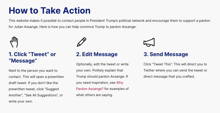 Help Defend Freedom of Speech #PardonAssangeNOW